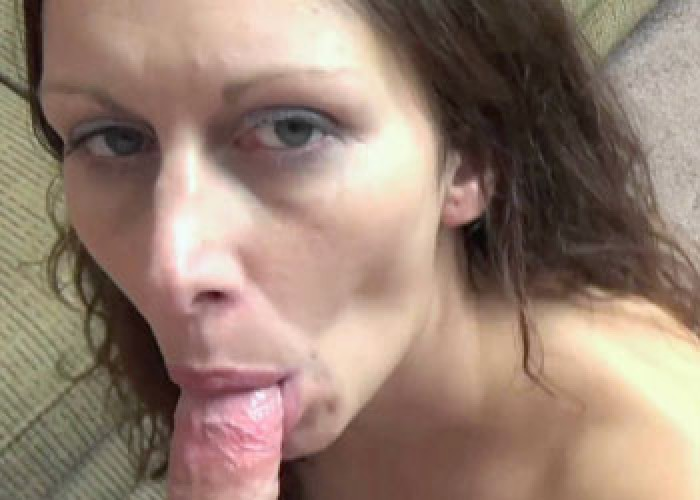 Trisha Delight's cock sucking debut