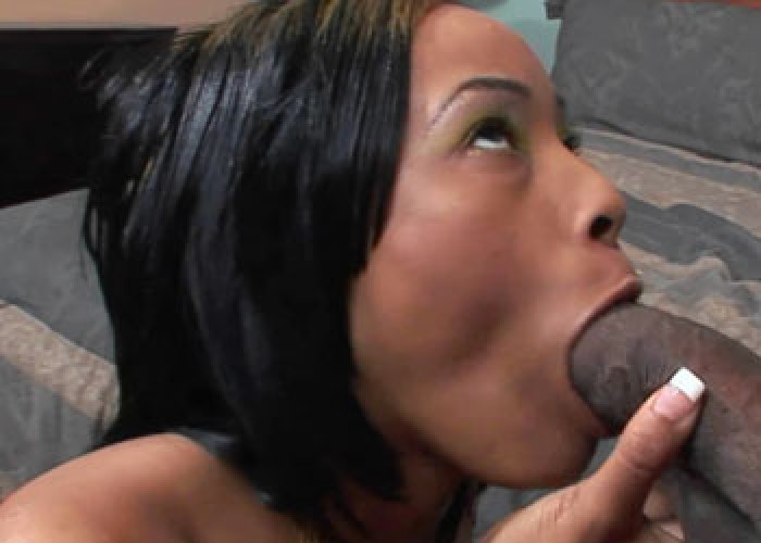 Ebony Brooke takes on a massive dick